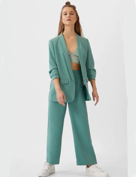 Pantalons d'été qui affinent : ample et droit