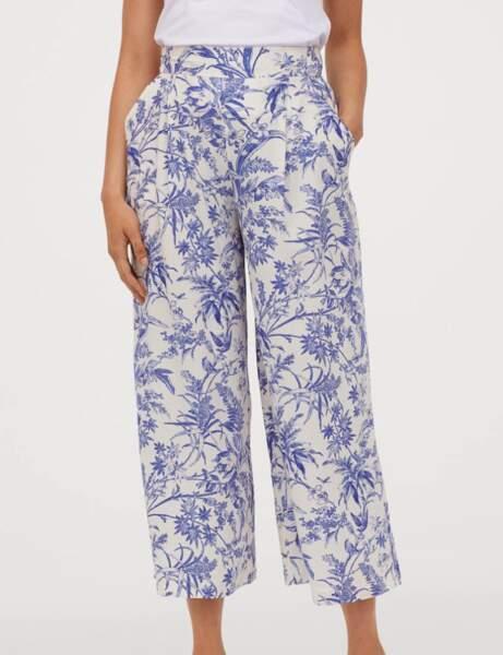 Pantalons d'été qui affinent : le ample à imprimé