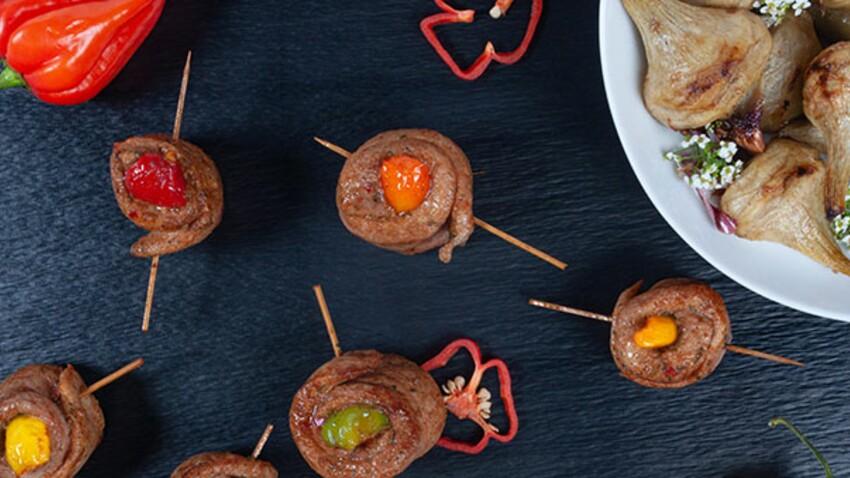 Aiguillettes au piment d'Espelette et artichauts poivrade