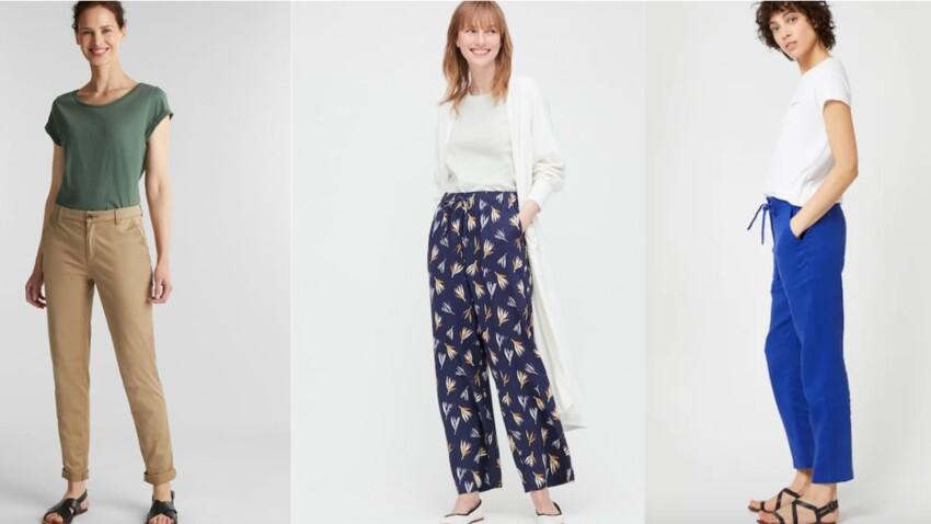 Pantalons d'été qui affinent : notre sélection pour toutes les morphologies