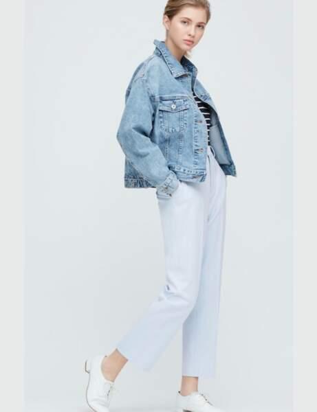 Mode 50 ans et plus : Un pantalon habillé pastel