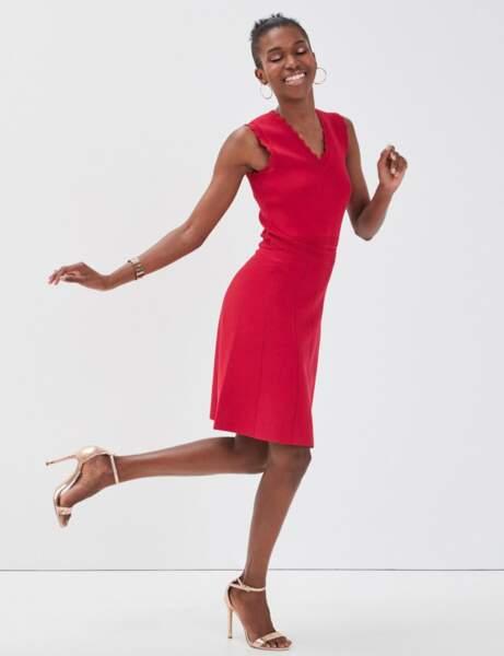 Mode 50 ans et plus : Une robe rouge
