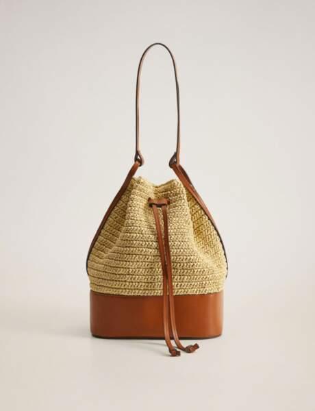 Mode 50 ans et plus : Un sac tressé