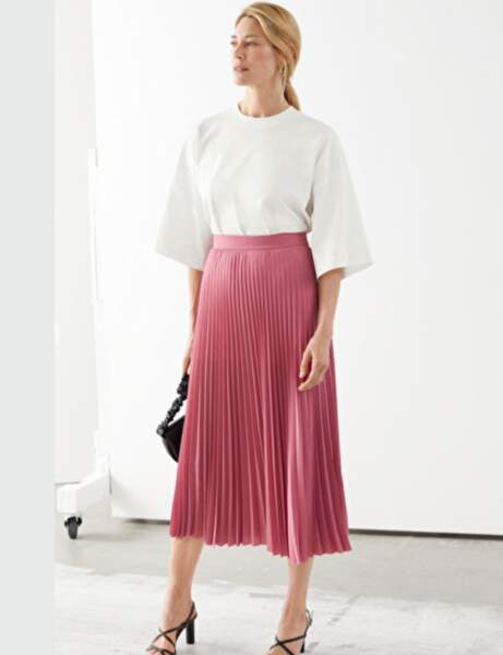Mode 50 ans et plus : Une jupe plissée