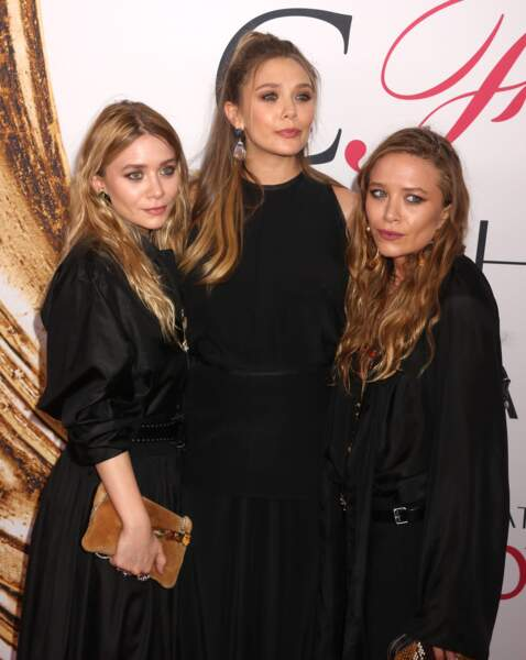 Ashley, Mary-Kate et Elizabeth Olsen