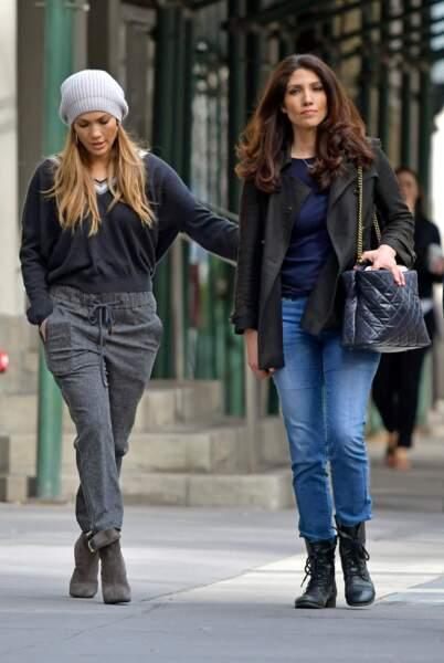 Lynda et Jennifer Lopez