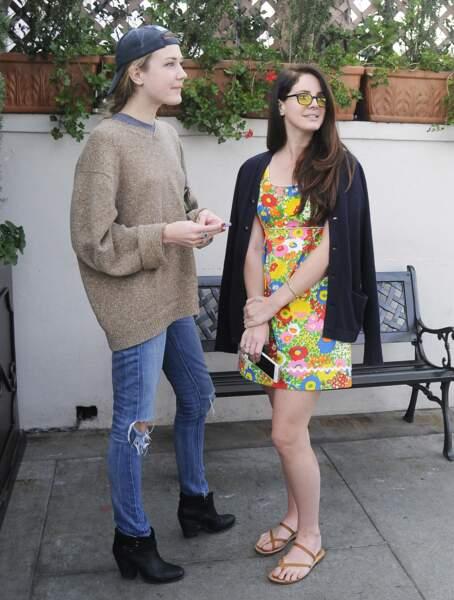 Lana Del Rey et Caroline Grant