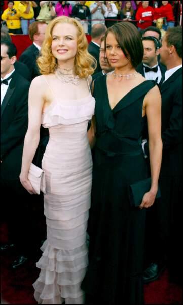 Antonia et Nicole Kidman