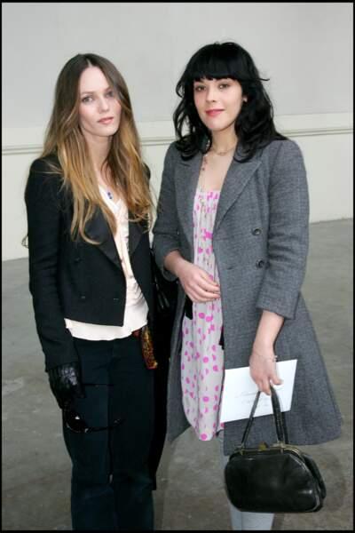Alysson et Vanessa Paradis