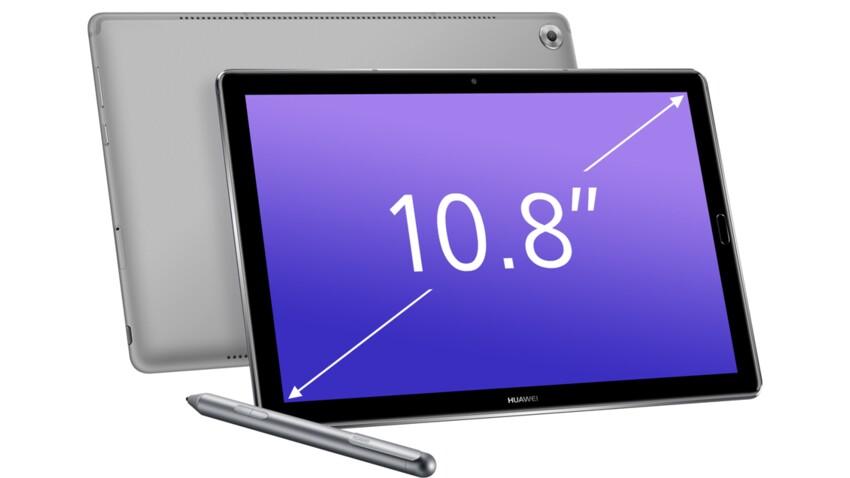On a testé la tablette Huwaei MediaPaD M5