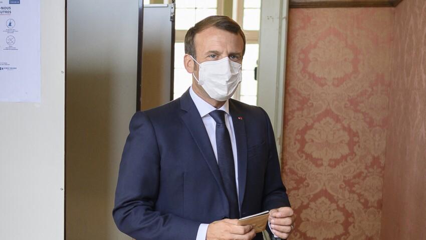 Emmanuel Macron se protège des polémiques en allant voter au Touquet