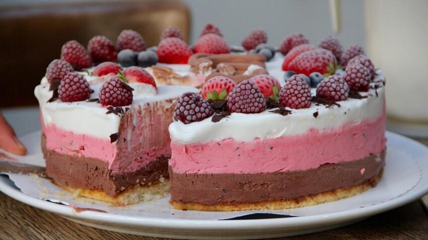 Nos délicieuses recettes faciles et rapides de gâteaux glacés