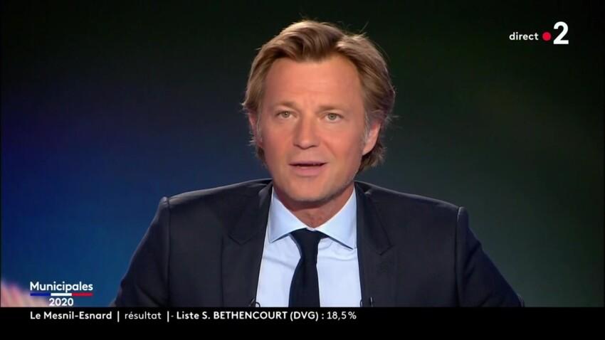Laurent Delahousse embarrassé : sa bourde en pleine soirée électorale