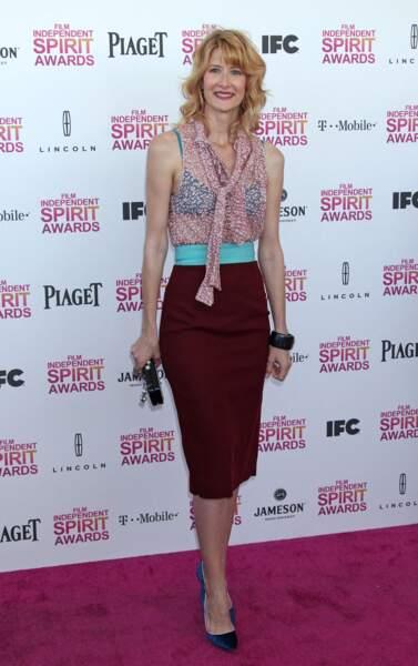 "Laura Dern à la soiree des ""Film Independent Spirit Awards"" à Santa Monica en 2013"