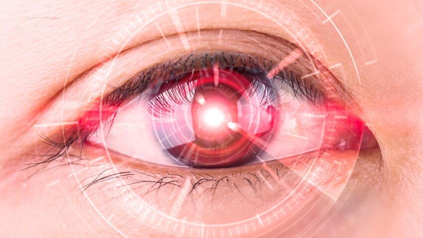 De la lumière rouge pour ralentir la baisse de la vue ?