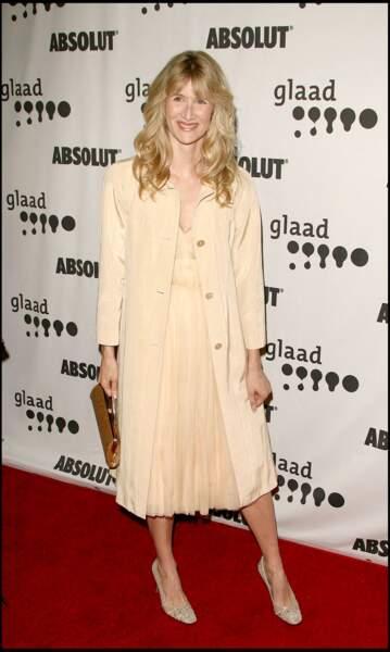 """Laura Dern en 2006 à la 17e édition des """"Glaad Media Awards"""" à Los Angeles"""
