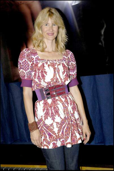 """Laura Dern en 2007 à l'avant-première de l'exposition """"Fetish"""" de David Lynch et Christian Louboutin"""