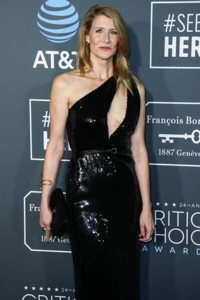 """Laura Dern lors de la 24ème soirée des """"Annual Critics's Choice Awards"""" à Santa Monica en 2019"""