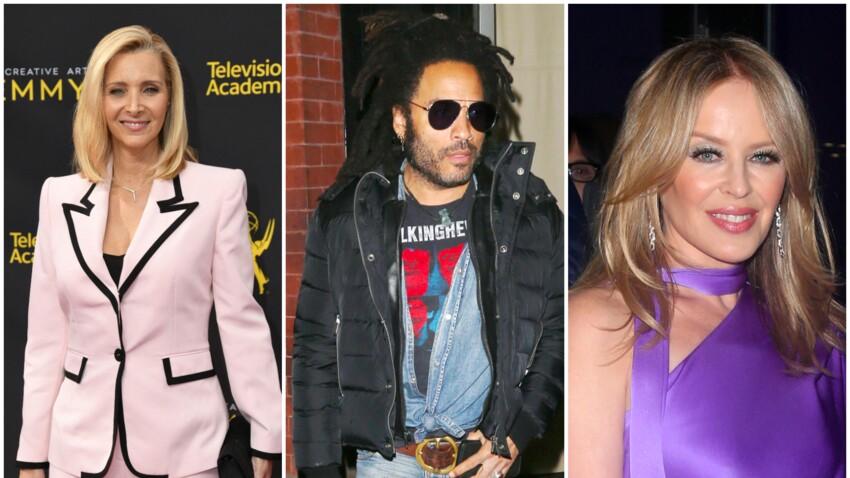 Lisa Kudrow, Kylie Minogue, Lenny Kravitz : ces 11 stars internationales tombées sous le charme d'une célébrité française