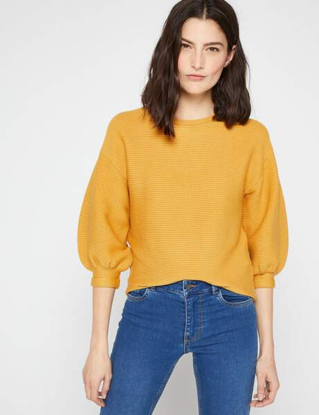 Tendance manches bouffantes : le pull