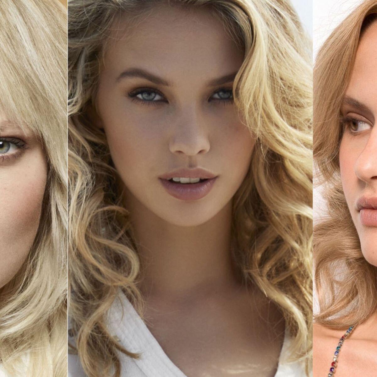 Carre Long Blond Nos Idees De Coupes De Cheveux A Adopter Femme Actuelle Le Mag