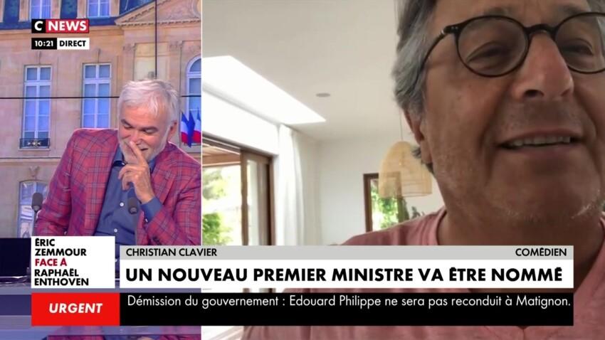 Christian Clavier : son gros tacle à Pascal Praud régale les internautes