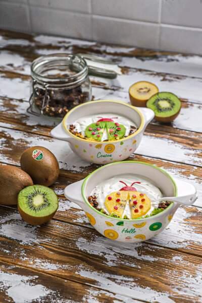 Granola kiwi et chanvre
