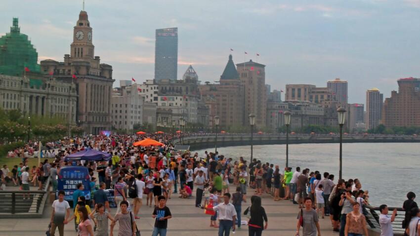 Voyage en Chine : balade sur le Bund à Shanghai