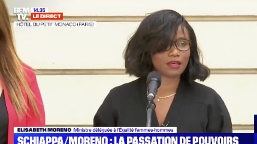 Elisabeth Moreno : qui est la nouvelle ministre de l'égalité femmes-hommes remplaçante de Marlène Schiappa ?