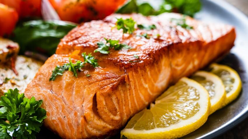 Filete de salmón a la plancha y tagliatelle: descubre las recetas de Femme Actuelle Le MAG