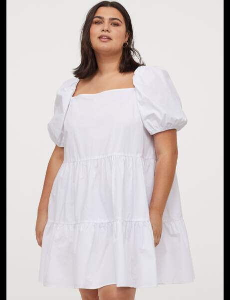 Robe grande taille : baby doll