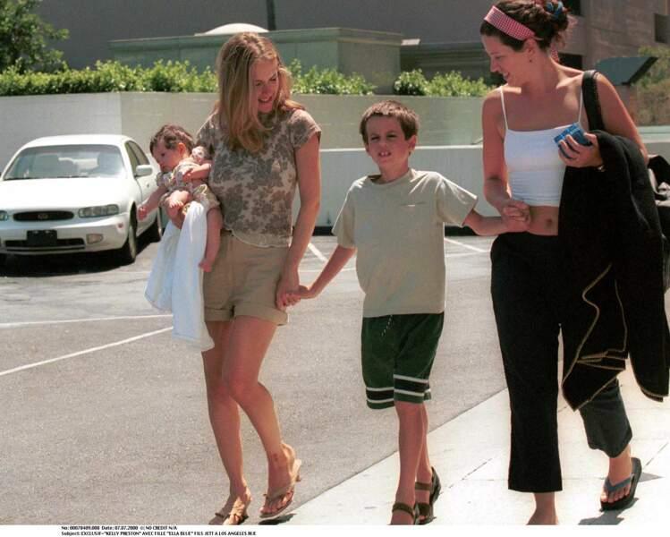 Kelly Preston et sa fille Ella Bleu