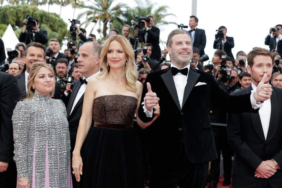 John Travolta et sa femme Kelly Preston
