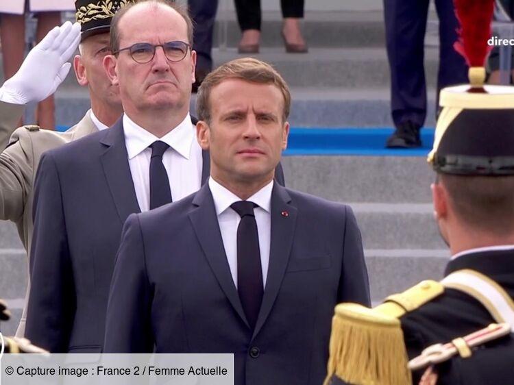 """Cérémonie du 14 juillet : Emmanuel Macron taclé pendant """"La Marseillaise"""""""
