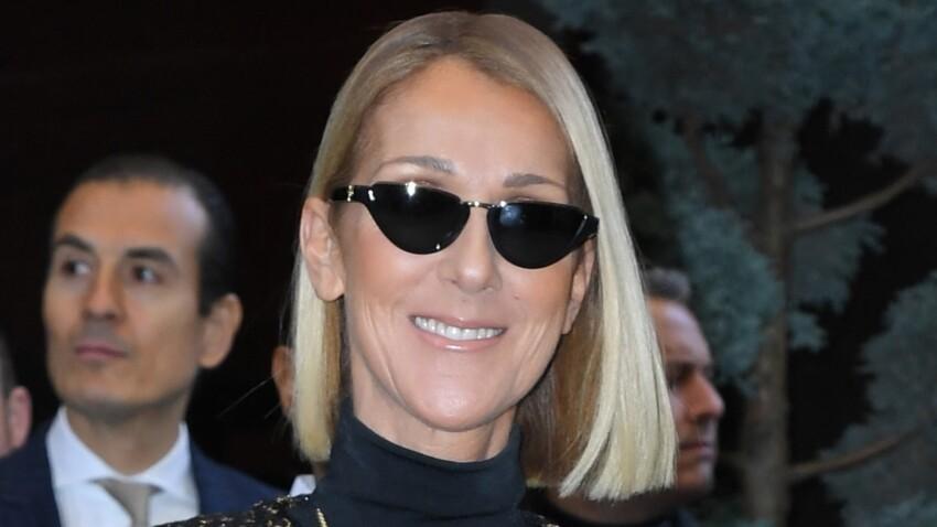 Céline Dion plus sexy que jamais dans une petite robe courte à plumes (wow !)