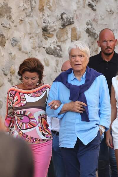 Bernard Tapie, 77 ans, et sa femme Dominique, 70 ans...