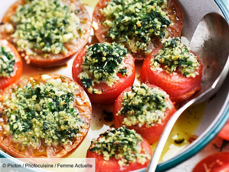 Tomates Farcies à La Provençale Découvrez Les Recettes De Cuisine De Femme Actuelle Le Mag