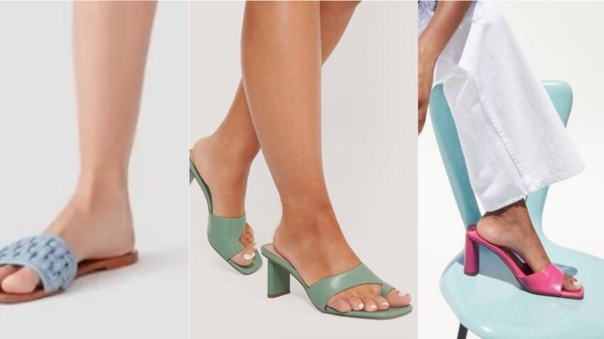Chaussure à la mode : les mules au top de la tendance de l'été 2020