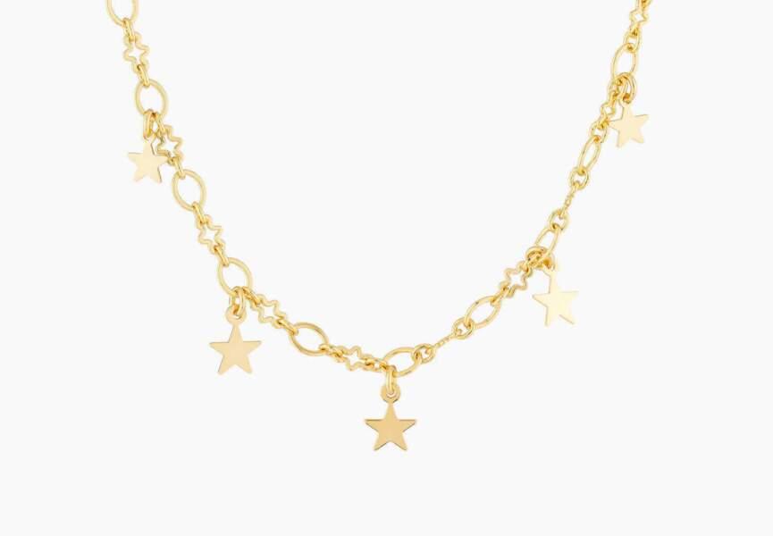 Bijou doré d'été : la chaîne étoiles