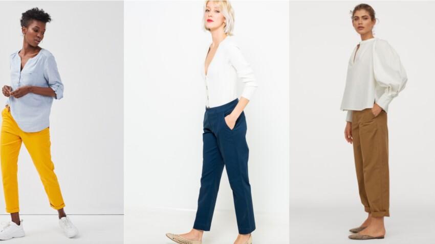 Pantalon chino : 10 pièces tendance et nos conseils pour l'adopter avec style