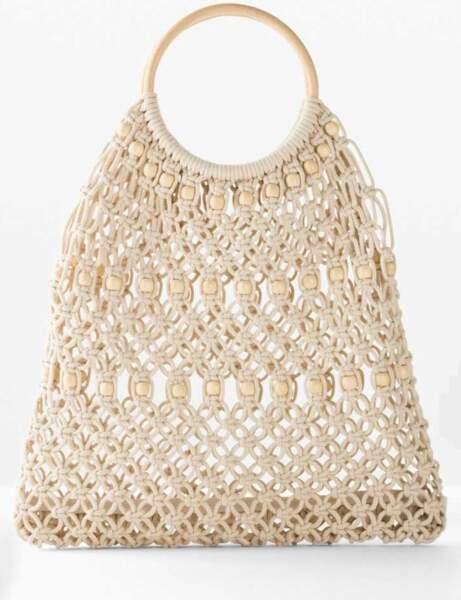 Sac de plage : un sac type filet