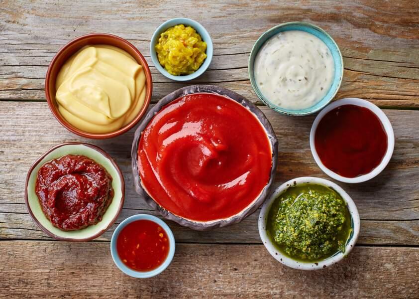 Les sauces industrielles