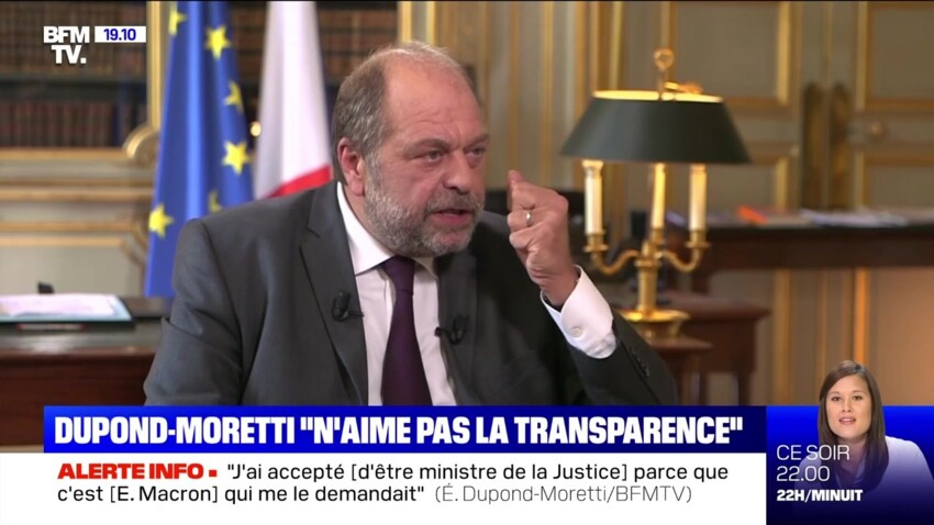Éric Dupond-Moretti : pourquoi il ne veut pas révéler son salaire à ses enfants