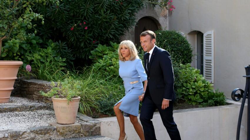 Emmanuel et Brigitte Macron en vacances : les photos de leur soirée en amoureux à la pizzeria