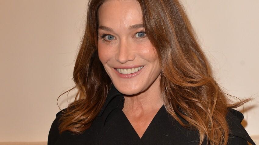 Carla Bruni sublime, elle ose un make-up tendance et coloré (Wow)