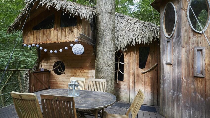 Une cabane dans les arbres… et bien plus !
