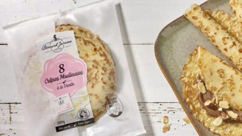 Risque de Listéria : Auchan, Carrefour et Jarnoux rappellent des crêpes susceptibles d'être contaminées