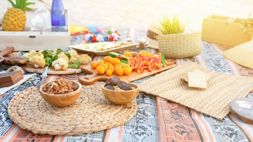Nos recettes faciles et rapides pour manger sur la plage