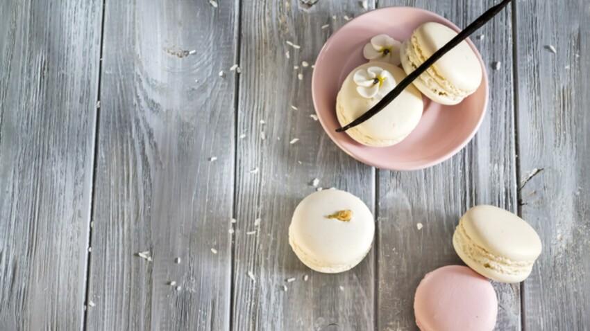 Nos recettes inratables de macarons à la vanille