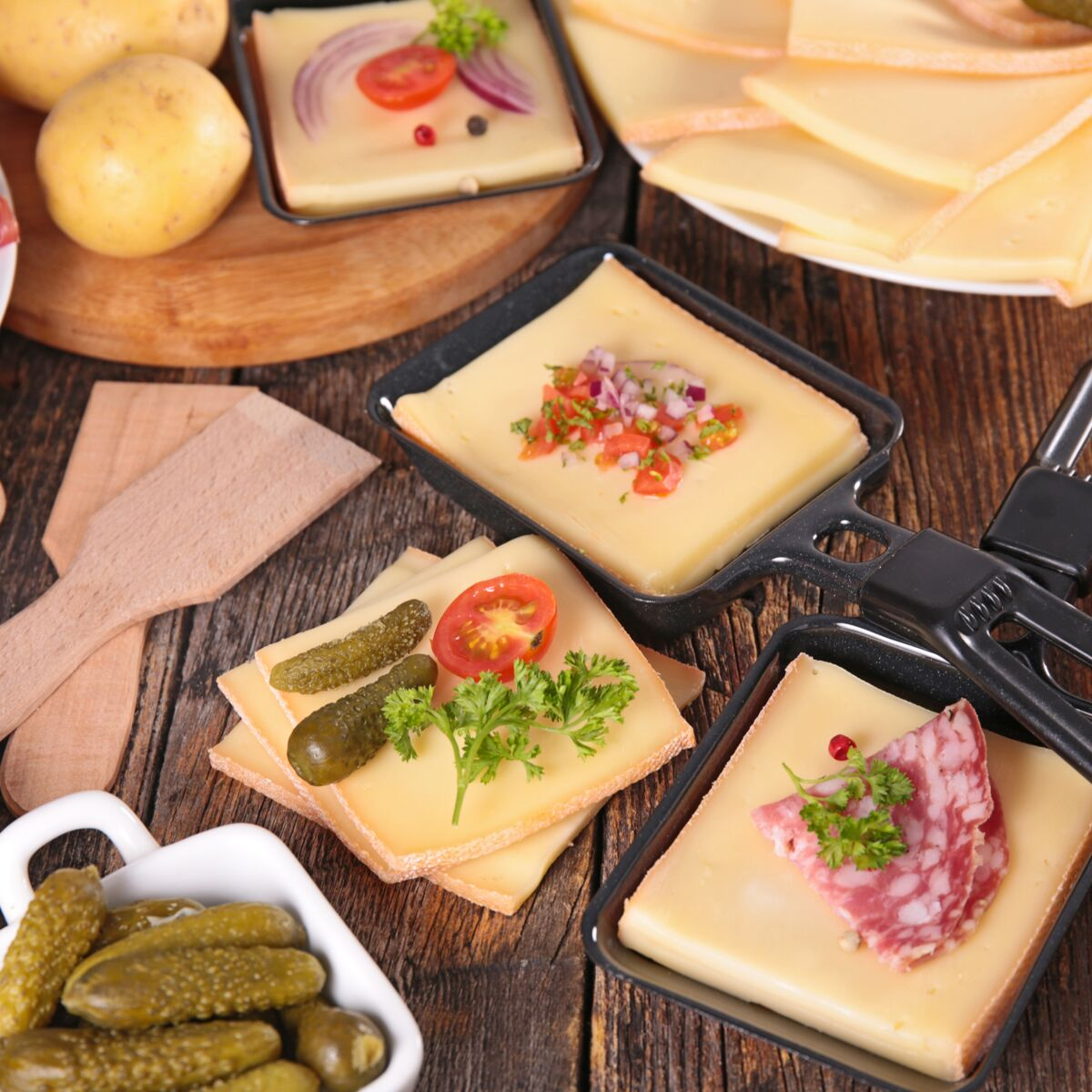Idée Raclette Raclette de Noël : nos idées de recettes originales : Femme